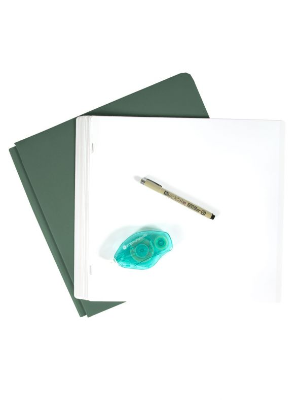 Naked Album - Fern Green Coverset