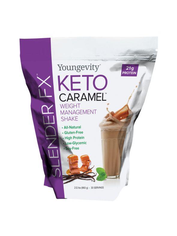 Slender Fx Keto Caramel™ Weight Management Shake